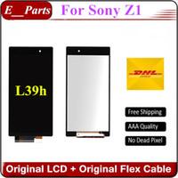 Originale pour Sony Xperia Z1 L39h C6902 C6903 C6906 C6943 Ecran LCD avec écran tactile sans cadre BY DHL