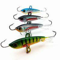 4шт 60мм 10г Новая приманка для ловли рыбы с приманкой для рыбной ловли