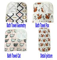 New Super soft print 100% Muslin cotton gauze 3 layers baby ...