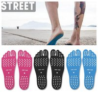 3 couleurs Summer Nakefit Soles Invisible Beach Shoes Nakefit Foot Pads Nikefit Prezzo Nakefit Beach Feet Pads 2pcs / lot CCA6706 1000lot