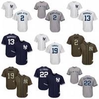 Youth New York Yankees 2 Derek Jeter 13 Alex Rodriguez 19 Ta...