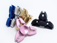 Fidget Spinners Triangle Mini griffe de crabe Mains Spinner Rotate Decompression Finger Toy Spinning Top EDC Toys Metal One Hand Free DHL
