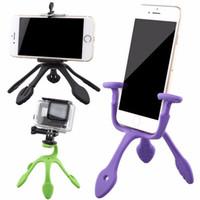 DHL Gekkopod caméra Trépieds Support de support portable pour iPhone Gopro Sj4000 SJCAM Caméras de sport Accessoires