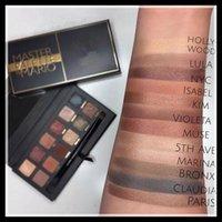 Mario ombre à paupières Palette Maquillage Ombre à paupières 12 couleurs ombre à paupières maquillage beauté DHL livraison gratuite