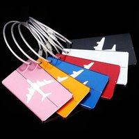 50pcs lot Mixed color Aluminum Alloy Travel Baggage tag Lugg...