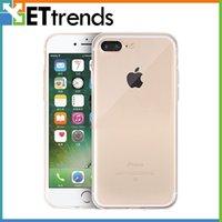 Haute qualité TPU pour iPhone 7 7Plus Téléphone Protecteur Transparent remplacement de cas DHL Livraison gratuite