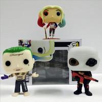 10cm Funko pop Suicide Squad Joker Harley Quinn Deadshot PVC...