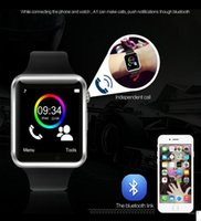 Bluetooth Smart Wrist Watch GSM Phone para Android Samsung iphone IOS HTC DHL Frete Grátis