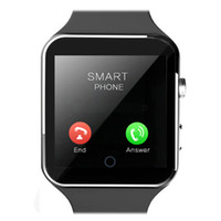 Nouveau Bluetooth Smart Watch X6 Montre sport Smartwatch Pour Apple iPhone Android Phone Avec appareil photo FM Support SIM carte électronique intelligente