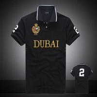 Summer Hot Sale Polo Shirt USA American Flag Polos Men Short...