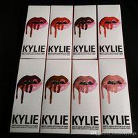 Kylie Lipgloss KIT Kylie Matte Liquid Lipstick Maquillage Lip Gloss couleurs facultatives DHL Free
