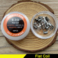 Premade Wrap Resistance Wire Coils Flat Coil twisted wire Fu...