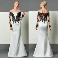 Modern Bateau Mermaid Evening Dresses 2017 Covered Button Il...