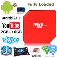 Original M8S Plus 2G 16G Android5. 1 Amlogic S905 Kodi16. 0 Fu...