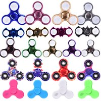 Bluetooth LED Lights Fidget Spinner Camo spinners à main LED Batman Spinners Anti-anxiété Stress Relief Magical Decompression Toys ZH01