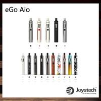 Joyetech eGo AIO Kit Avec 2.0ml Capacité 1500mAh Batterie Structure anti-fuites et verrouillage pour enfants Tout-en-un Style Dispositif 100% Original