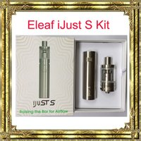 Authentic 3000mAh Eleaf iJust S Kit with Battery Capacity an...