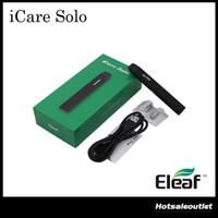Authentique Eleaf iCare Solo Starter Kit avec 320mAh Built-in batterie 1.1ml Tank IC 1.1ohm tête tout-en-un Style Device 100% Original