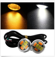 10Pairs 2. 3CM Dual Color Switchback 5730 6smd 6LED DRL Eagle...