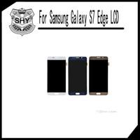 Écran LCD Touch Digitizer Panneaux complets de l'écran Remplacement complet de l'Assemblée pour Samsung Galaxy S7 Edge G935 G935F G935A G935V