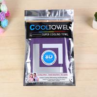 100pcs lot front back dual colors 88*33cm 11colors coolings ...