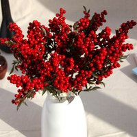 Artificial flower poinsettia decorative flower artificial bo...