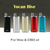 Yocan улей Kit для воска CBD катушки 650mAh Box Mod Wax Atomizer КБР Атомайзер Включено против Yocan Evolve Plus DHL Free