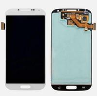 Original pour Samsung Galaxy S4 i9500 i337 i545 i9502 i9505 E300K E300S Montage complet écran numériseur remplacement écran avec plein cadre