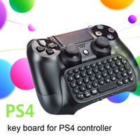 PS4 accessoires clavier sans fil clavier bluetooth pour PS4 joystick contrôleur de jeu PS4 chatpad pour Playstation 4 jeu vidéo