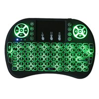 Backlight i8 English 2. 4GHz Wireless Keyboard Air Mouse Touc...