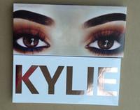 2017 Kylie Новые The Royal Персик палитра с пером Косметика Burgundy палитра теней для век Дженнер Тени для макияжа