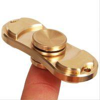 2017 Tri- Spinner Fidgets HandSpinner Torqbar Brass EDC Senso...