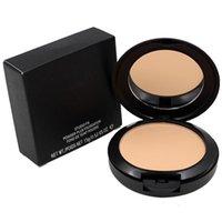 Maquillaje Studio Fix Face Pressed Powder Plus Fundación 15g maquillaje líquido Estudios corrector con esponja 12 Sombras 2017 La más nueva marca grande Towoto
