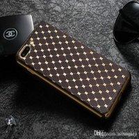 Phone Cases 3 Colors Stylish Grid Diamonds Electroplate TPU ...
