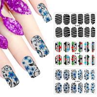 Popular Sale 1 Sheet DIY Decals Nails Art Sticker Water Tran...