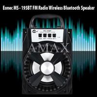 MS-195BT Haut-parleurs sans fil Bluetooth Haut-parleurs portables portatifs Mains libres avec support micro Support TF Haut-parleurs extérieurs