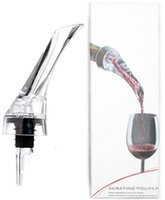 Essential Set Quick Aerating Pourer Decanter Red Wine Bottle...
