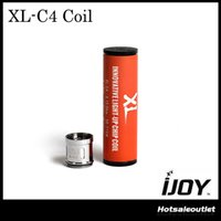 IJOY XL-C4 Light-up Chip Coil Fit pour IJOY Limitless XL Sub Ohm Tank RTA 100% Original