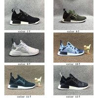 Drop Shipping 12 Colours NMD Runner Primeknit XR1 Fall Olive...