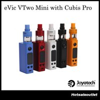 Joyetech eVic VTwo Mini avec Cubis Pro Kit Nouveau firmware avec 75W eVic VTwo Mini Cubis Pro Atomizer 100% Authentique