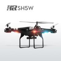 Original HR SH5W 2.4G 4CH 6-Axe Wifi FPV Quadcopter RC Drone Avec 0.3MP Camera Mode Headless 3D-flip RTF Chirstmas Cadeau Livraison gratuite