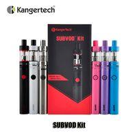 Kit de démarrage original Kangertech SUBVOD de 100% avec Kanger 1300mAh SUBVOD Batterie 3.2ml SSOCC Toptank Nano Atomizer Gif Box