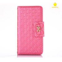 Flip Stand Wallet Leather Phone Case Phone Cover with Metal ...