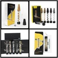Twisty Glass V12 Kit V12 Plus 3 en 1 kit 4 Tamaños de fumar de tamaño Nuevo Vaporizador de Hierbas Herb Hierba Seca Venta caliente
