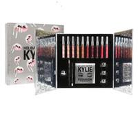 5 sistemas Caja grande de la colección del día de fiesta de los cosméticos de Kylie Caja grande de la colección grande del día de fiesta envío libre en la acción