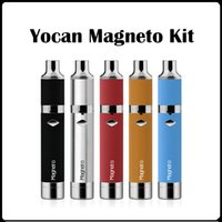 Yocan Magneto Kit 1100mAh Wax Pen Wax Vaporizer Magnético 5 Color Coil Cap construido con Dab Herramienta VS Yocan Evolve Plus Kit