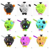 Fidget Cube Fidget Dice Alivia Stress e Ansiedade para Crianças e Adultos Ansiedade Atenção Brinquedos Mão Spinner Fidget CCA5638 20pcs