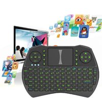 Smart Backlight Fly Air Mouse Remote Rii I9 2. 4GHz Wireless ...