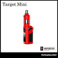 Authentique Vaporesso Target Mini 40w Kit avec Dual Child Locking Mécanisme Structure unique anti-fuites avec CCELL Ceramic Coil