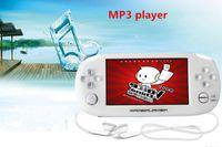 2017 8 Go 4,3 pouces console de jeu ultra-mince PMP joueur de jeu portable T880 MP4 MP5 Player caméra vidéo haut-parleurs de vibration